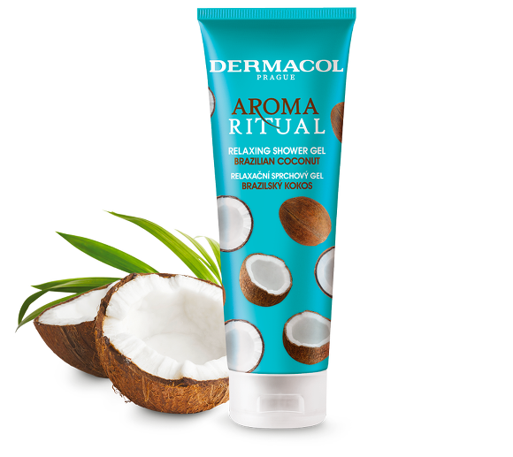 New Coconut shower gel