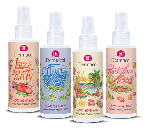 Fragranced body mists