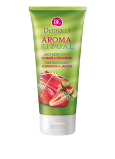 AROMA RITUAL BODY LOTION – RHUBARB & STRAWBERRY