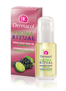 STRESS RELIEF BODY OIL GRAPE & LIME