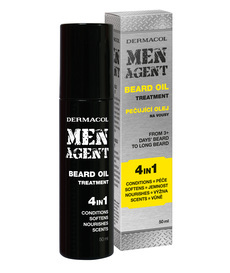 MEN AGENT Beard Oil Treatment