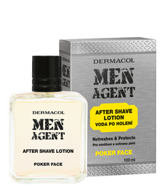 MEN AGENT After Shave Lotion Poker face