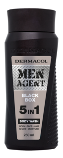 Men Agent Shower Gel Black Box