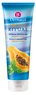 Aroma Ritual Shower gel - papaya and mint